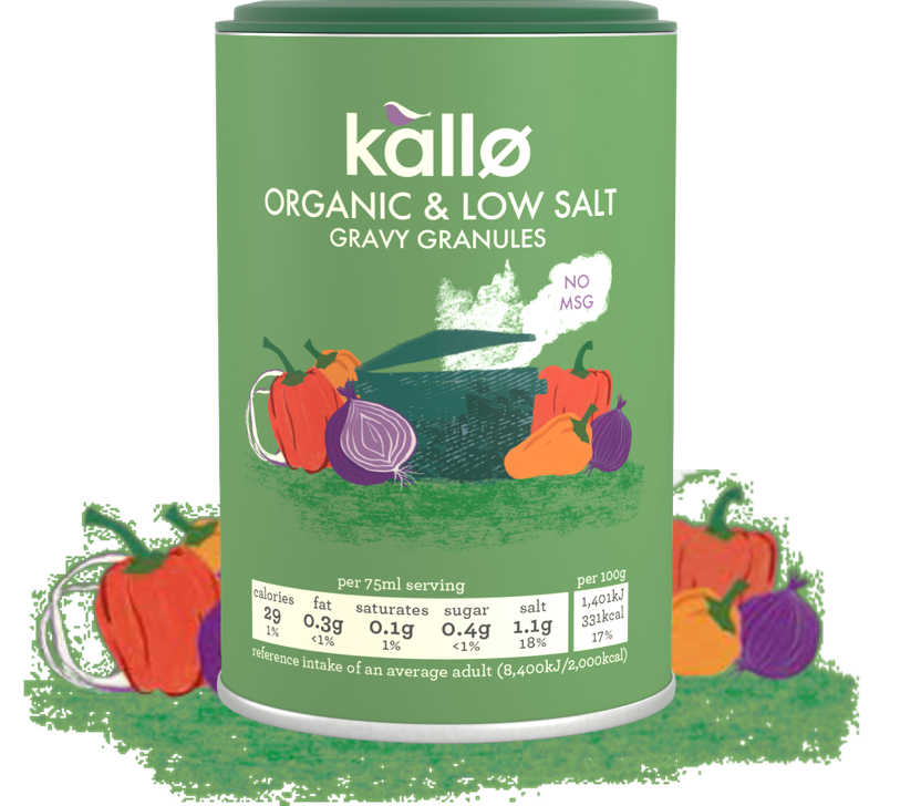 Kallo low salt organic gravy tub - pack shot.png