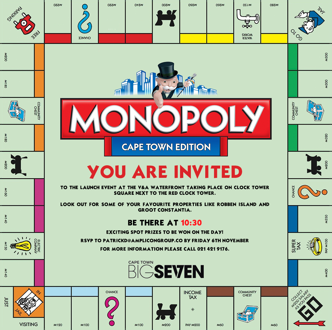 MONOPOLY CAPE TOWN BOARD LAUNCH - MONOPOLY Cape Town (news)