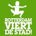 Rotterdam viert de stad logo