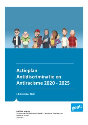 Lees het volledige Actieplan Antidiscriminatie en Antiracisme