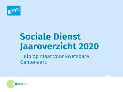 Bekijk hier het jaaroverzicht van de sociale dienst