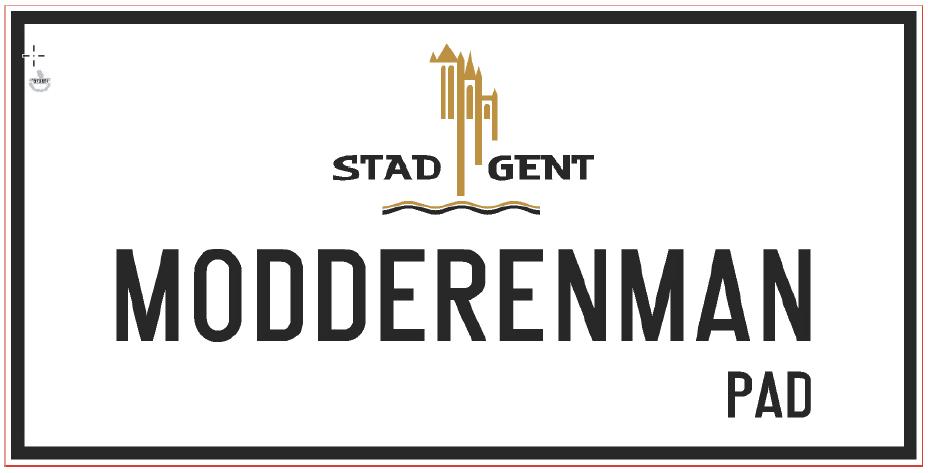 ontwerp straatnaambord Modderenmanpad.png