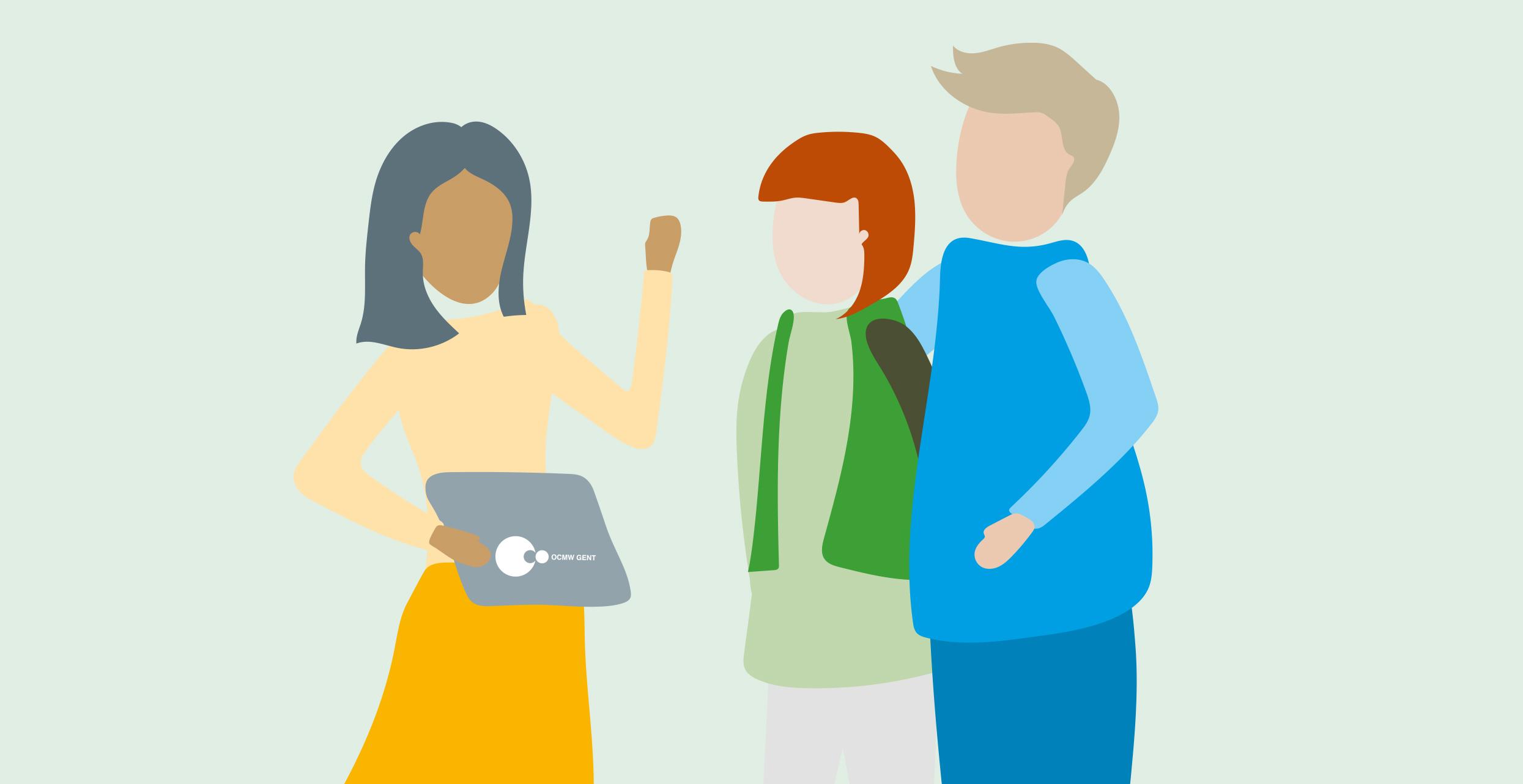 Brochure Sociale Dienst