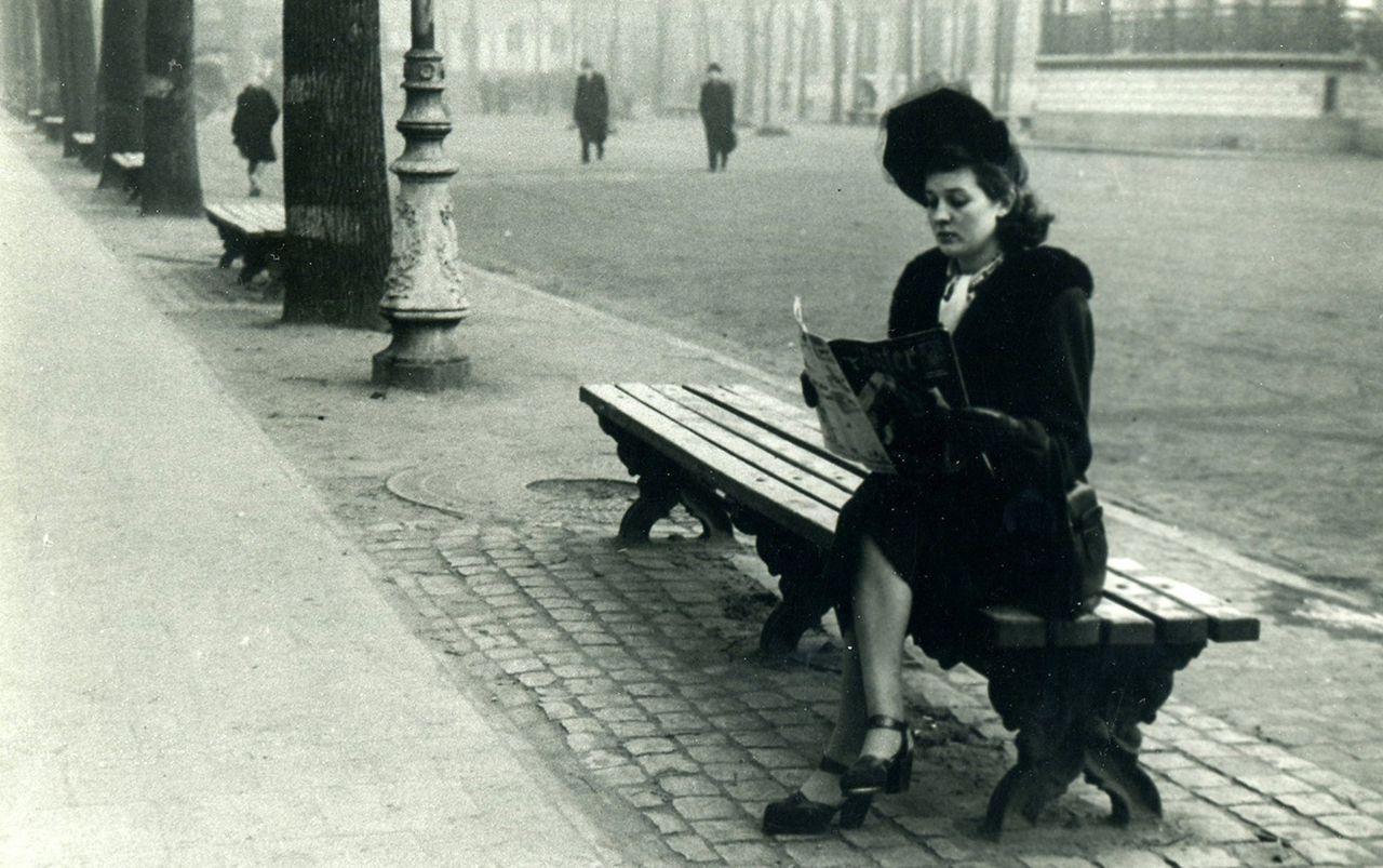 Simonne Verhelle (foto Besbrugge/Collectie Marc Verschooris)