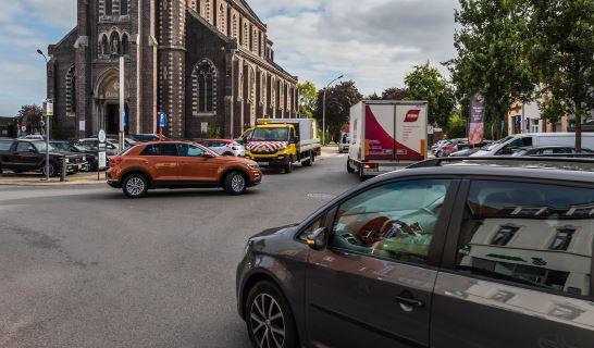 Drie scenario's voor een wijkmobiliteitsplan voor Dampoort - Oud Gentbrugge.