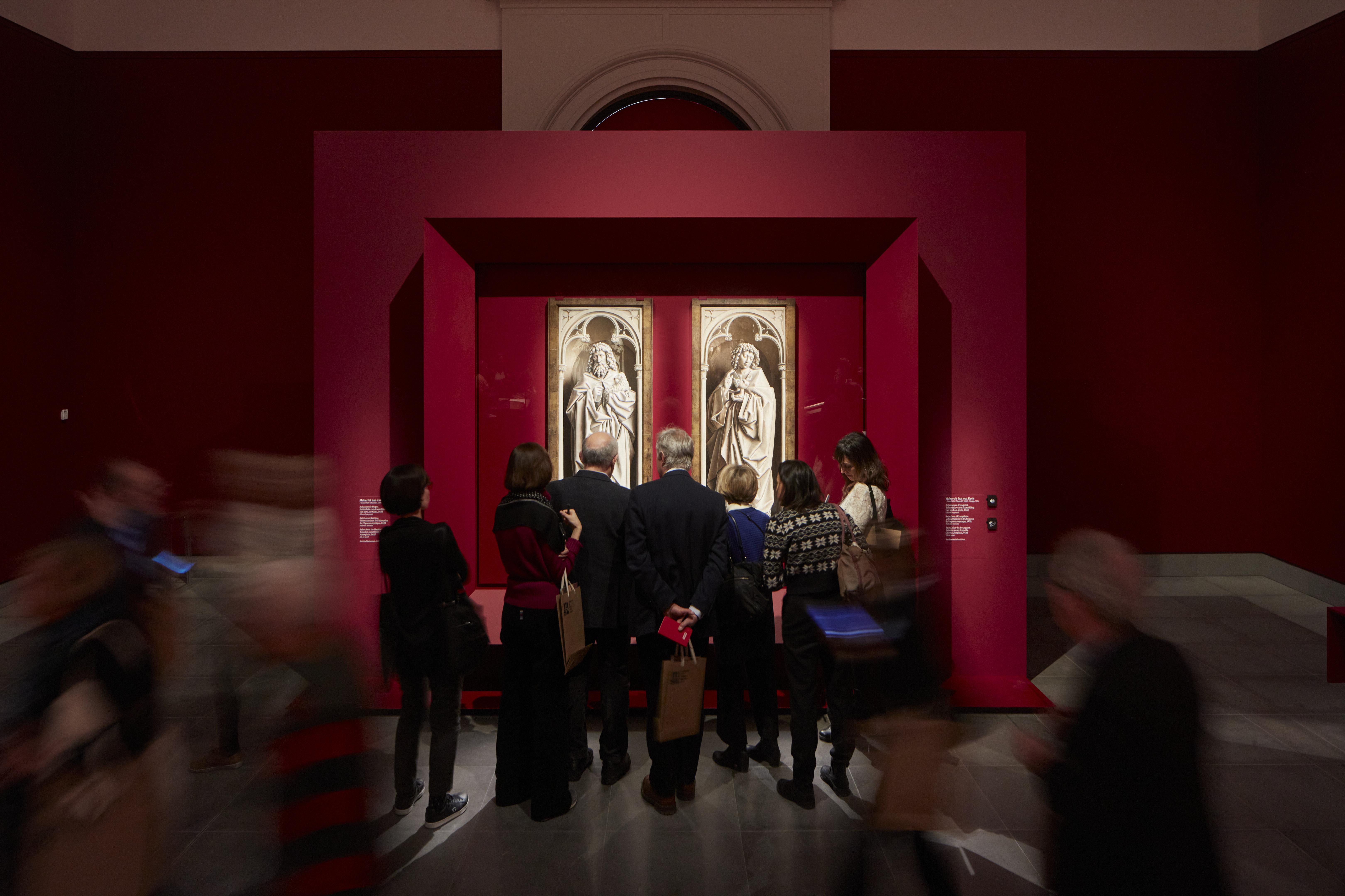 De Van Eyck-tentoonstelling in het MSK Gent. © David Levene