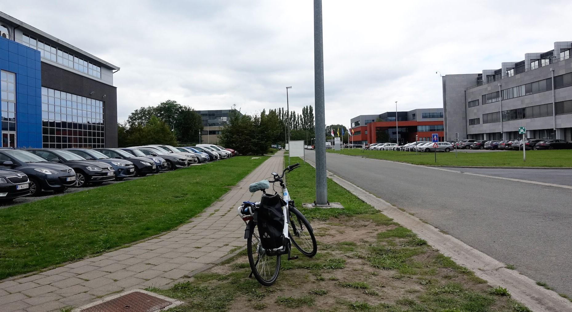 Het Technologiepark Zwijnaarde. ©Peter De Bock