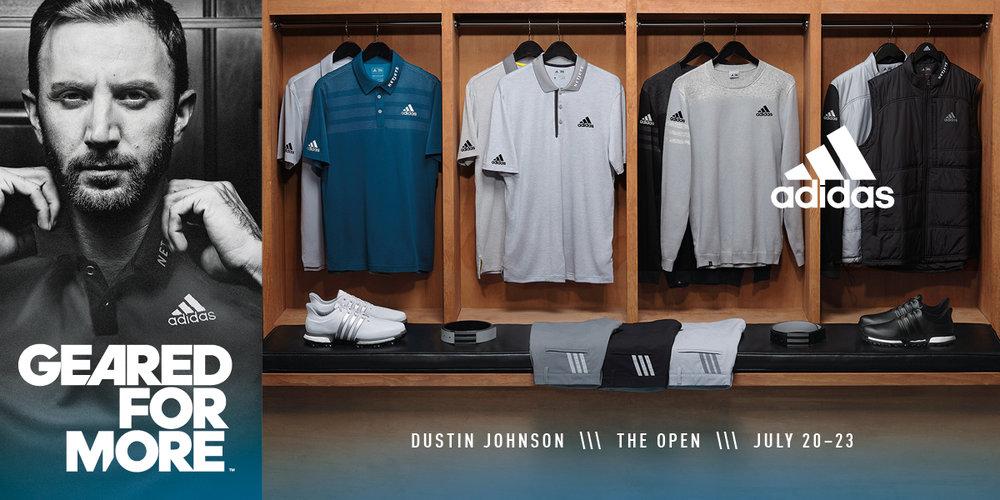 adidas golf prepara dj e sergio per l'open championship