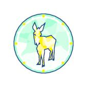 33734 strange donkey icon pms 9b843d medium