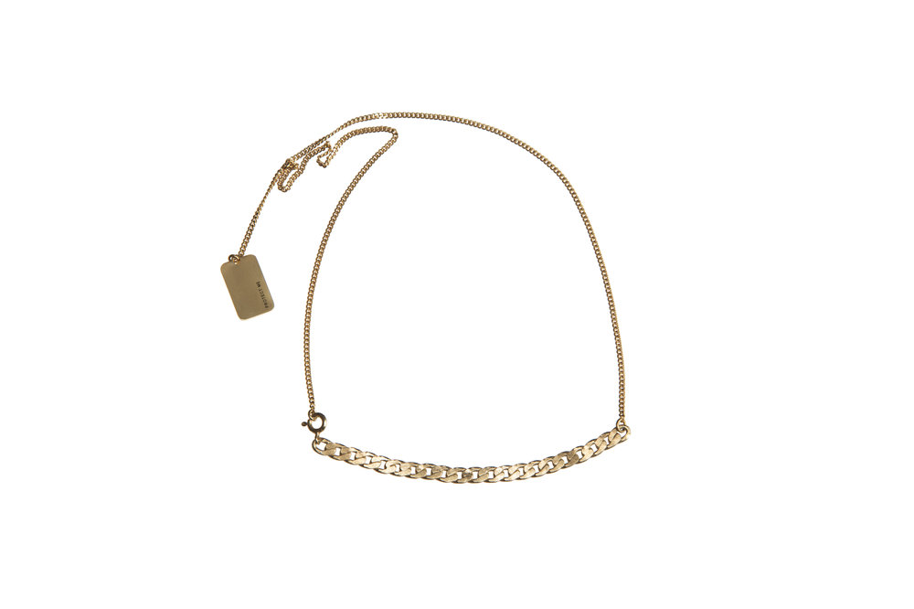 264307 ketting goud plaatje protect me f85667 large 1510767124