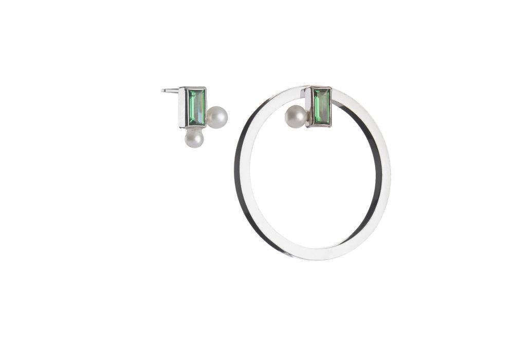 264322 oorbellen steen parel ring zilver 068ad8 large 1510767244