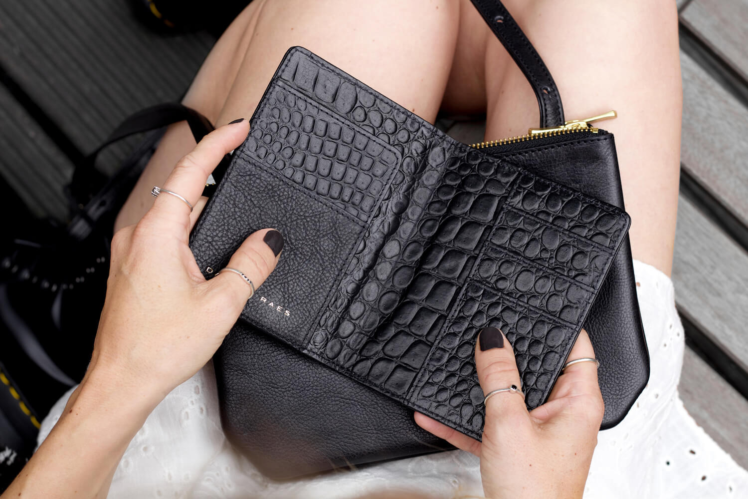 283651 daphny raes luxury leather passport holder black croco 79 a89cdd original 1529673302