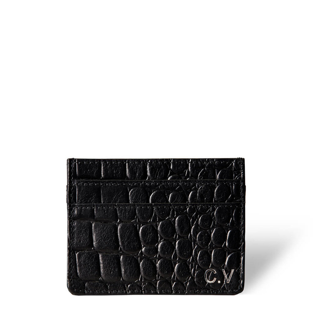 283653 daphny%20raes womens leather credit card holder black croco monogram 45 d5fdcc large 1529673344