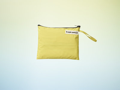 The Peoples Poncho yellowbag