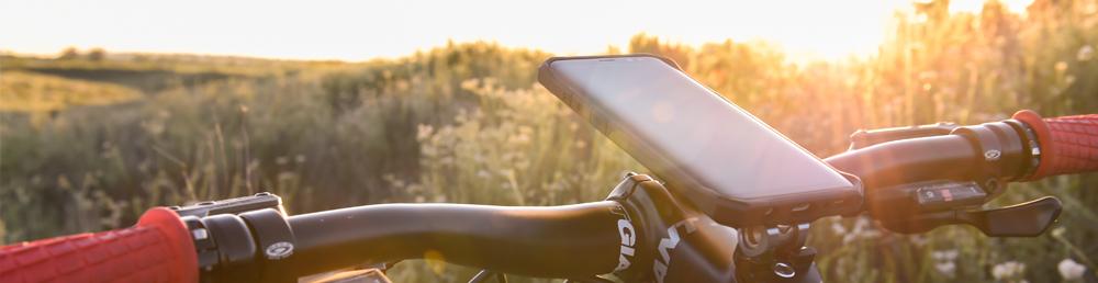 Rokform cases zijn ideaal voor op de fiets en bieden de beste bescherming