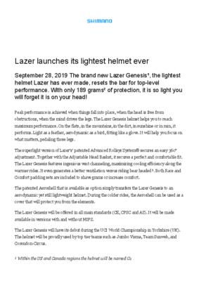 Genesis_Lazer-launches-its-lightest-helmet-ever