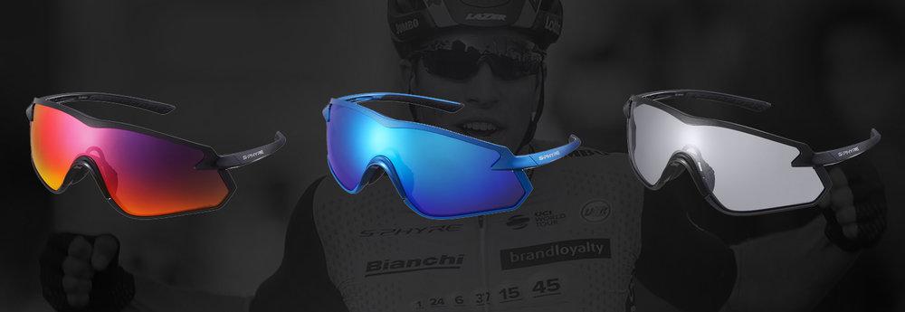 S-Phyre SPHX1 PH photochromic glasses blue SHIMANO bike