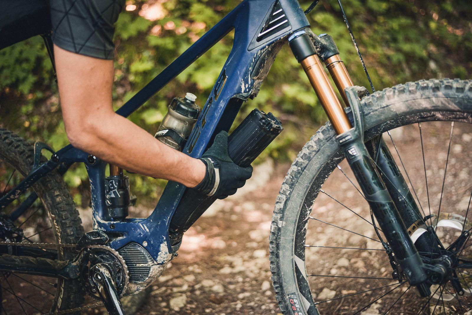 Shimano EP8 E-Bikesysteem interne accu