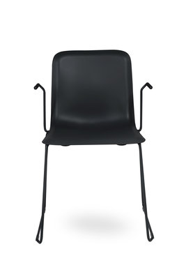 249884 hr%20this%20100%20pp%20chair%20black%20with%20armrests%20richard%20hutten%20lensvelt%20front%20view 145455 medium 1496924885