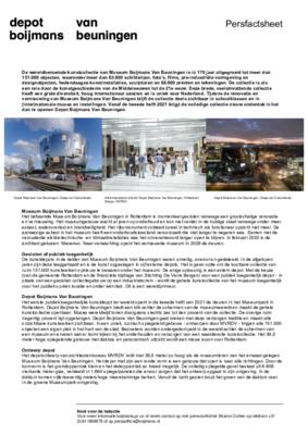 Factsheet depot NL