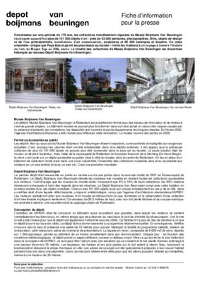 Factsheet Depot FR