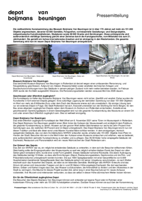 Factsheet Depot DE