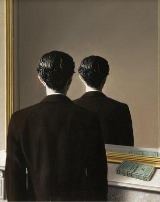 16 Rene Magritte, La reproduction interdite
