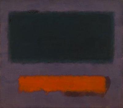 21 Mark Rothko, Grey, Orange on Maroon, No. 8