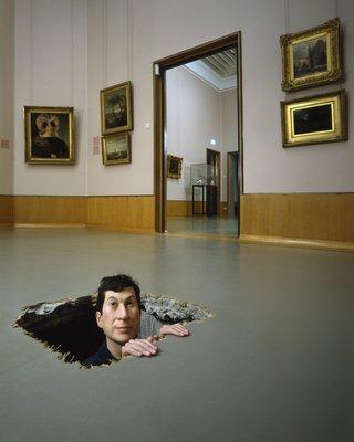 09 Maurizio Cattelan, Untitled (Manhole)