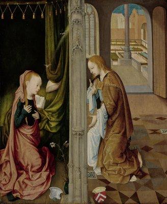 07 Meester van de Virgo inter Virgines, De verkondiging aan Maria_The Annunciation