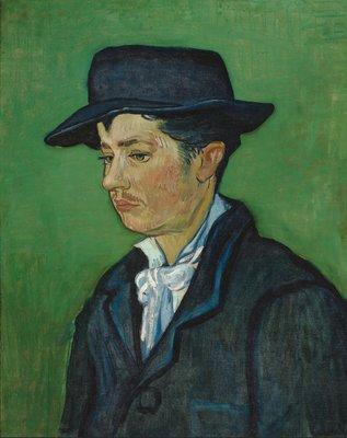 13 Vincent van Gogh, Portret van Armand Roulin_ Portrait of Armand Roulin