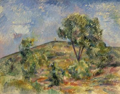 11 Paul Cézanne, Landschap bij Aix met de Tour de César_Landscape near Aix with the Tour de César