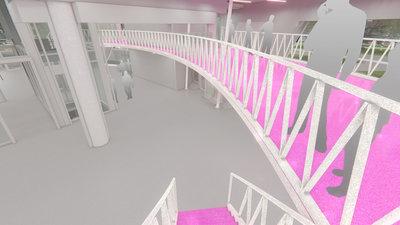 Artist impression Interior Public Art Depot Museum Boijmans Van Beuningen Rotterdam. Design: 3D Capacity