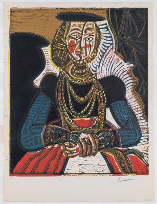 Pablo Picasso, Buste de femme d'après Cranach le jeune, 1958, Museum Boijmans Van Beuningen, Rotterdam