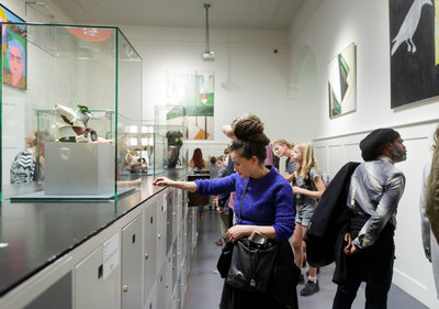 Opening Pop-Up Museum. Foto: Fred Ernst