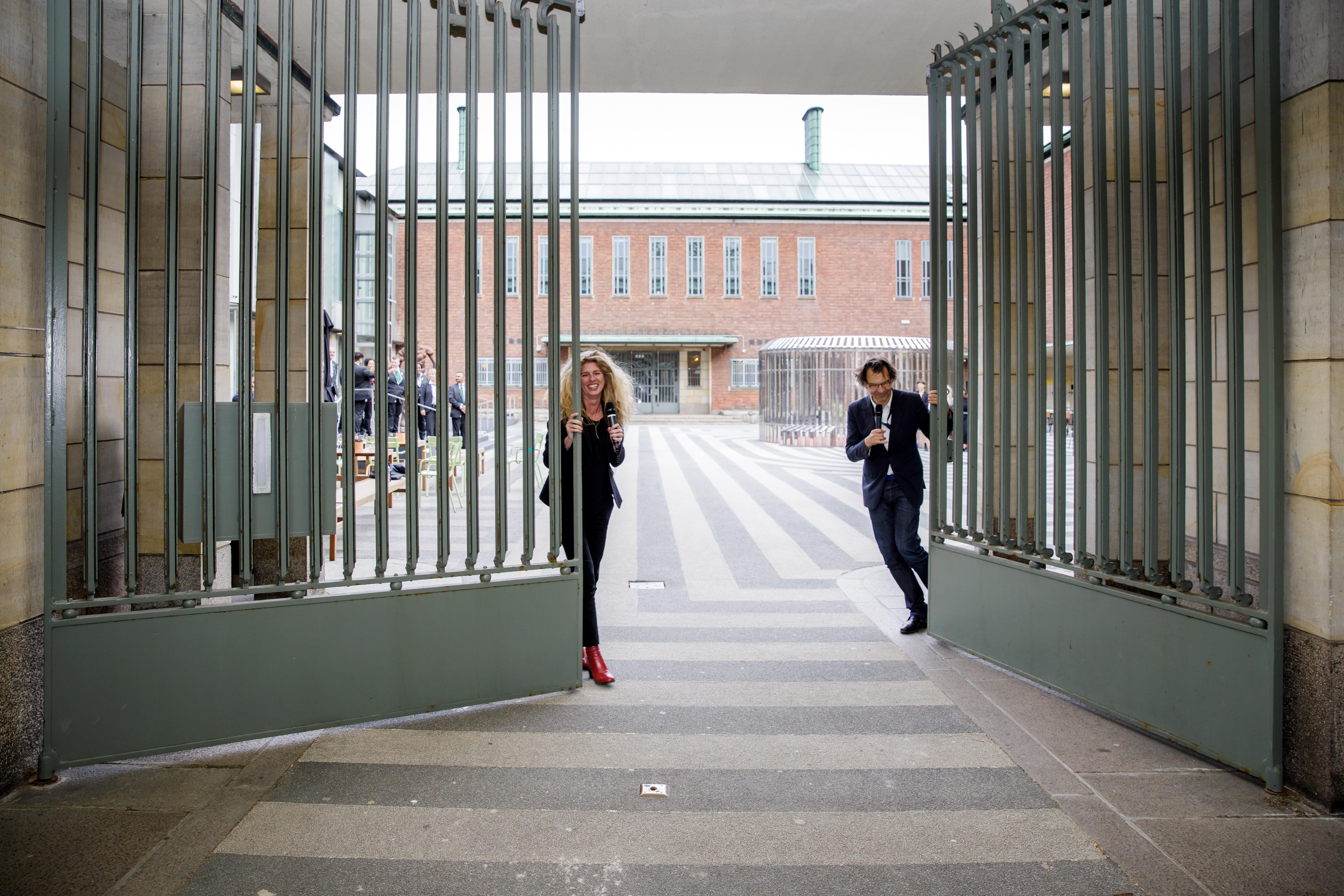 Sluiting van Boijmans. Foto: Aad Hoogendoorn