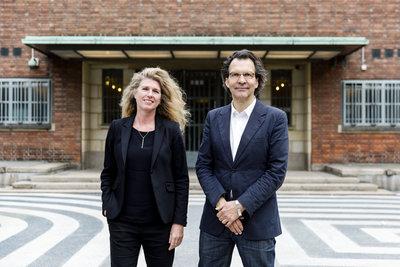 Directeurs Ina Klaassen en Sjarel Ex, Foto: Aad Hoogendoorn