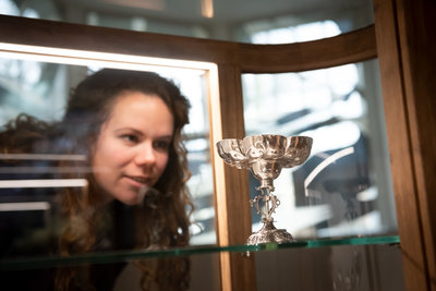 Samensmeden in het Belasting & Douane Museum. Foto: Lotte Stekelenburg