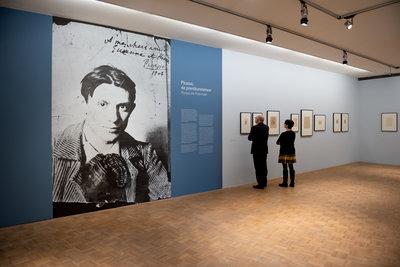 Picasso op papier in de Kunsthal Rotterdam. Foto: Lotte Stekelenburg