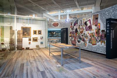 'Ateliergeheimen van Rotterdam' in Museum Rotterdam. Foto: Lotte Stekelenburg