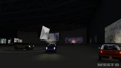 "West8 voor ""Boijmans Ahoy drive-thru museum"" augustus 2020 in Rotterdam Ahoy"