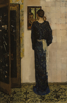 George Hendrik Breitner, Het oorringetje, 1893, collectie Museum Boijmans Van Beuningen.