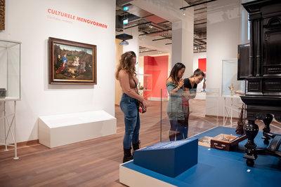 Remix Rotterdam. Boijmans x Wereldmuseum. Foto: Lotte Stekelenburg