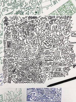 Dreamy Doodles van Franky Sticks.JPG