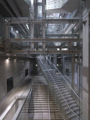 Depot Boijmans Van Beuningen van binnenuit. Foto: Ossip van Duivenbode