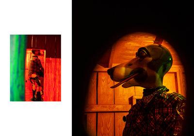 Paul McCarthy, 'Bunkhouse' (1996), Boijmans Ahoy drive thru museum, 2020, foto: Stacii Samidin