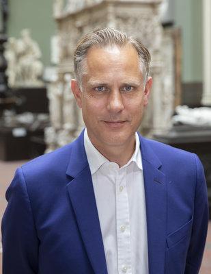 Tim Reeve, spreker symposium 'Opening Up!' en directeur Victoria & Albert Museum Londen.