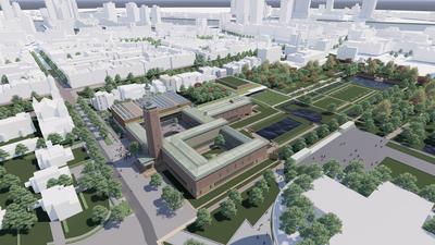 Museum Boijmans Van Beuningen renovatieplan