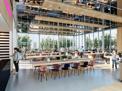 Impressie van restaurant Renilde ontwerp. Beeld: 3D capacity