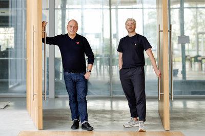 Rob Wagemans en Bart de Beer, Concrete. Foto: Aad Hoogendoorn